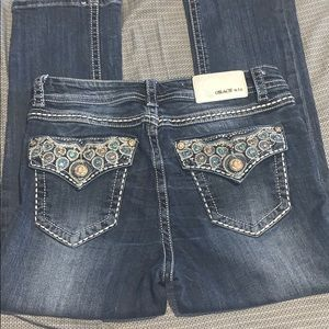 Jeweled Styled Grace Jeans